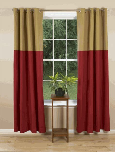 grommet curtains festive contemporary curtains by