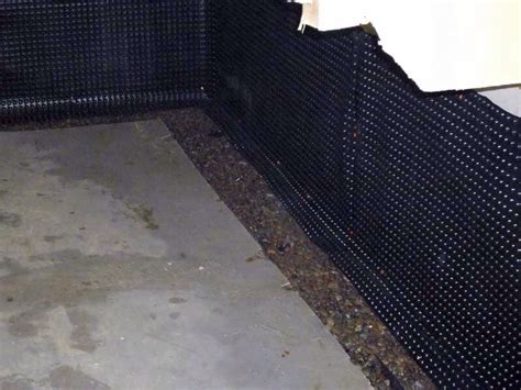 Insulating A Basement With A Perimeter Drain Pro