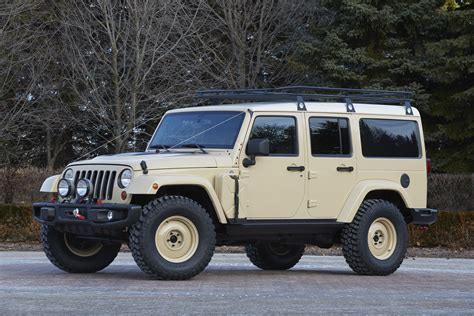 The Jeep Wrangler Africa Concept heads to Safari in Moab