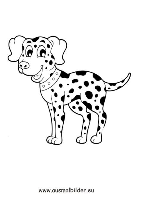 ausmalbilder dalmatiner hunde malvorlagen