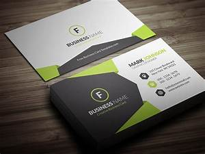 Geometric style corporate business card template free for Corporate business card templates