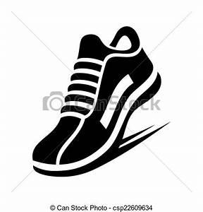 Vectors of Running Shoe Icon. Vector - Running Shoe Icon ...
