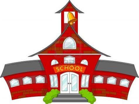 School House Cartoon Clipart