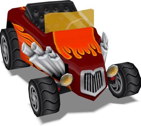 Crash Psp Car (crash Tag Team Racing) Model By Crasharki