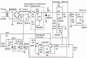 12v 10a Switching Power Supply Circuit Diagram In 2020