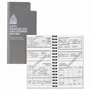 Record Mileage Dome Publishing Auto Mileage And Expense Record Book Ld