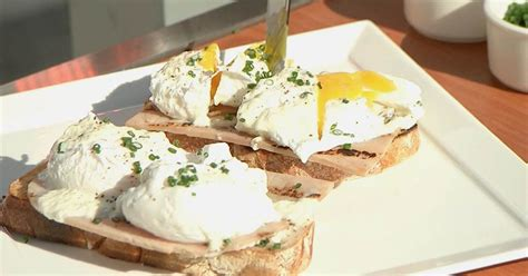 eggs benedict italian style  scott conants delicious