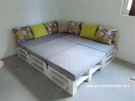 canapé en palettes canape lit en palette atlub com