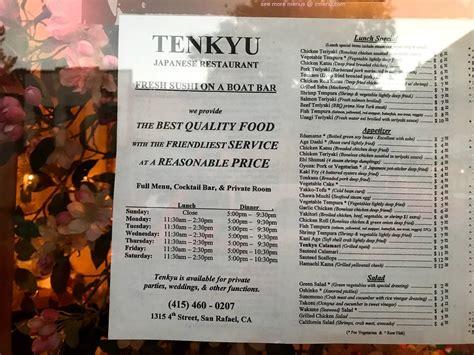Poshmark makes shopping fun, affordable & easy! Online Menu of Tenkyu Restaurant, San Rafael, California, 94901 - Zmenu