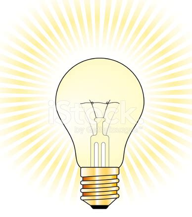 glowing light bulb royalty free stock images image light bulb on royalty free vector background with glow effect stock vector freeimages