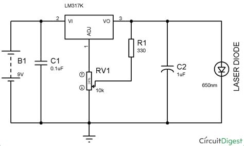 Circuit Diagram Laser Diode Driver Design