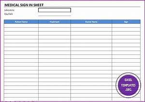 medical office sign in sheet template - medical sign in template excel templates excel