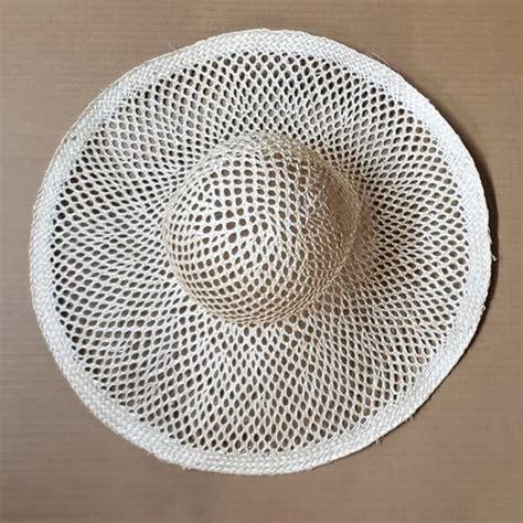 natural mesh sisal capeline  brim millinery supplies
