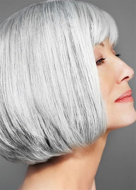 50 Shades Of Grey Hair Trends And Styles Ohh My My