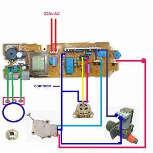 Fully Automatic Washing Machine Wiring Diagram Lg 4 Button