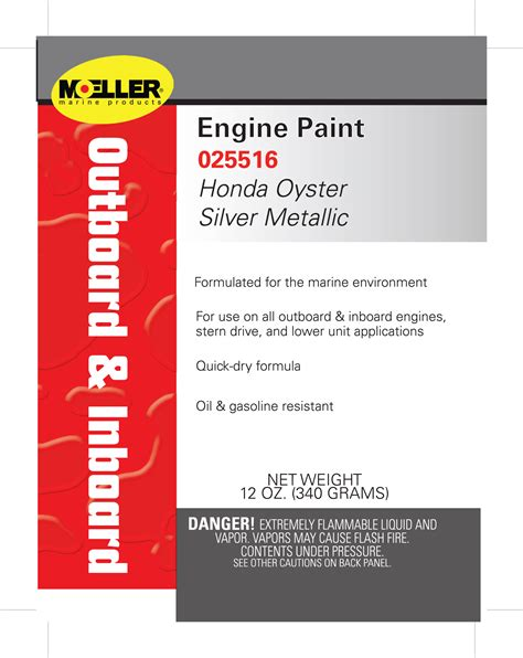 engine paint color honda oyster silver metallic
