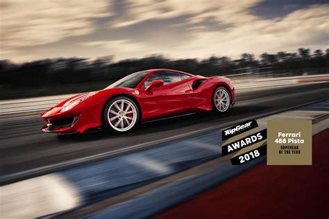 Top Ten Ferraris by 488 Gtb Takes Top Gear 2018 Supercar Award