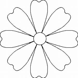 89+ Flowers Outline Png - Daisy Outline Black And White ...