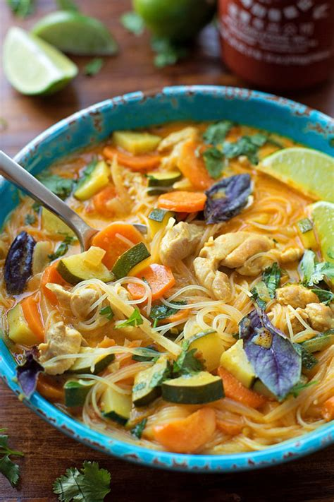 Please view my photo use policy here. Curried Chicken Noodle Soup 2 - Life Made Simple