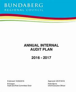 6 audit plan samples templates in pdf for Annual internal audit plan template