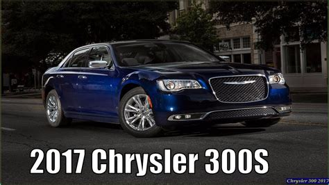 2017 Chrysler 300s Sport Exterior And