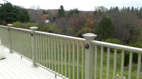 outdoor l post not working planning on lighting your deck with low voltage youtube