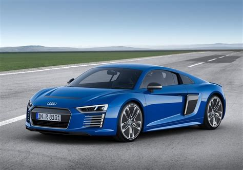 New, 2016 Audi R8 E-tron Electric Sports Car Is Set For Action