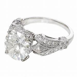 Diamond White Gold Engagement Ring at 1stdibs