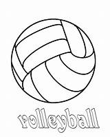 Volleyball Coloring Pages Court Drawing Quotes Preschool Sport Getdrawings Colornimbus sketch template