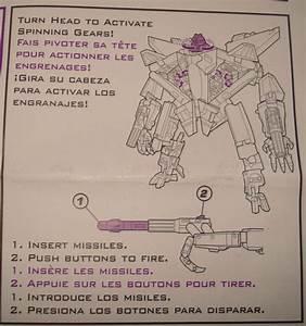 Rotf Starscream Instruction Manual
