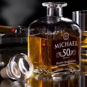 Geschenke Für 50 Euro : whisky karaffe 50 geburtstag elegant mit pers nlicher gravur ~ Frokenaadalensverden.com Haus und Dekorationen