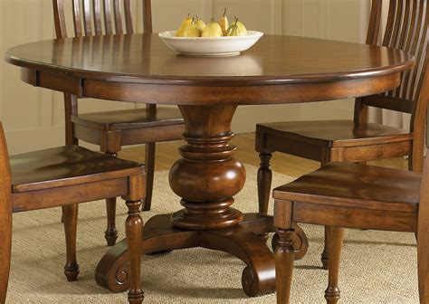 pedestal dining table dining room lemon grove avenue