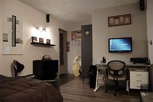 Chambre De Jeune Fille : total relooking d 39 une chambre pour un jeune homme la page ~ Preciouscoupons.com Idées de Décoration