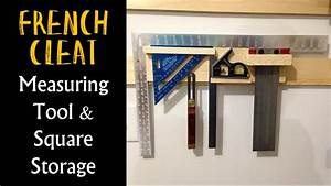 French Cleat Square & Measuring Tool Storage (CMRW#22