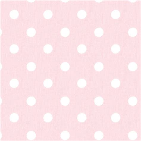 light baby pink white polka dot fabric remnant 20 x