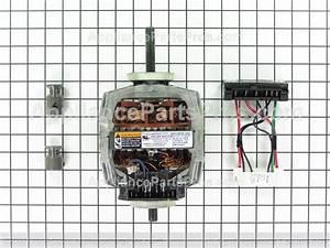 Ge We17x10010 Dryer Motor Kit