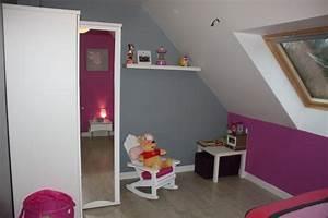 chambre sous comble chambre amnager un dressing sous With peinture chambre sous pente