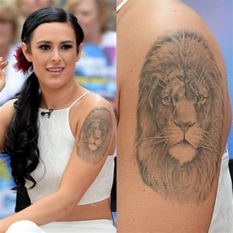 rumer willis  tattoos meanings steal  style