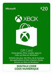 xbox gift card 20 direct geleverd zonder kosten