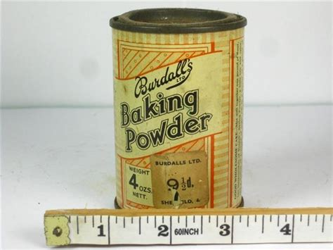 baking powder for sale shop stuff food tin burdalls baking powder for