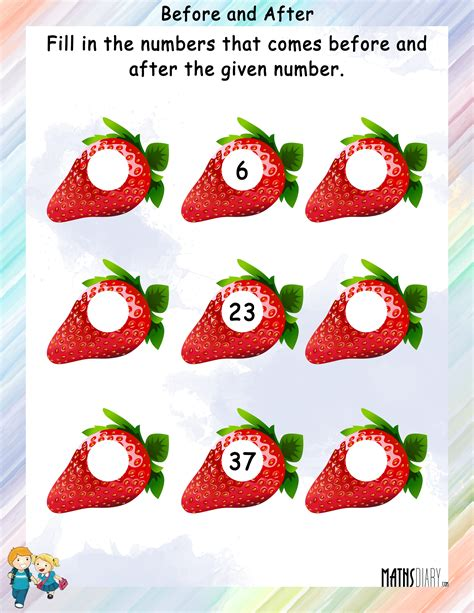 numbers grade  math worksheets page