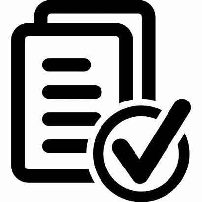 Customer Icon Document Satisfaction Icons Tick Documents