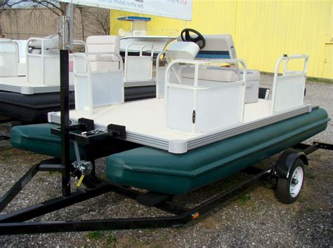 Small Boat Pontoons by Days Poly 118a Mini Pontoon Boat Stuff
