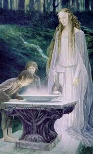 Scrying Mirror by The Mirror Of Galadriel Alan Lee