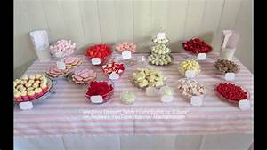 Wedding Dessert Table Set Up For Susan  U0026 Chris
