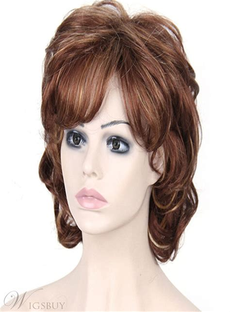 aisi short curly bob hairstyle layered synthetic hair capless wig  inches wigsbuycom