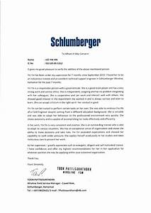 recommendation letter schlumberger With thank you letter for visiting trade show booth