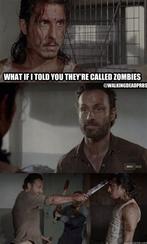 Rick Grimes Meme - 648 best the walking dead images on pinterest walking dead stuff the walking dead and