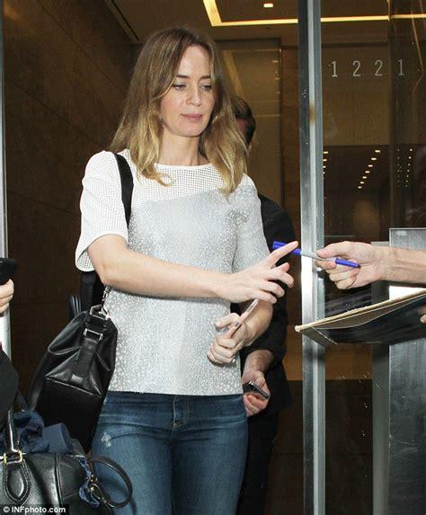 Emily Blunt addresses rumours of ex-boyfriend Michael ...