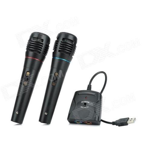 eclairage led bureau 5 in 1 câble micro karaoké fixé pour ps3 ps2 pc xbox wii